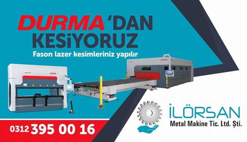 İlörsan Metal Makine Lazer Kesim Ltd. Şti.